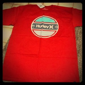 Men's Hurley T-shirt, Red, NWT